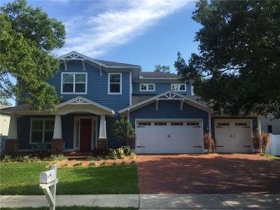 Hillsborough County Single Family Home For Sale: 3310 W FIELDER STREET