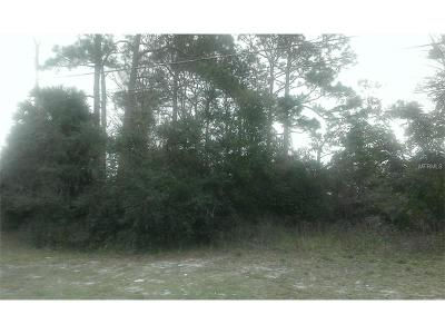 Deltona FL Residential Lots & Land For Sale: $49,900