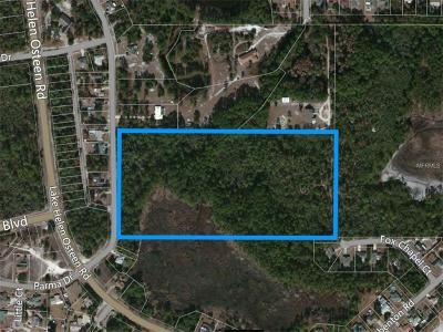 Deltona Residential Lots & Land For Sale: Parma Drive