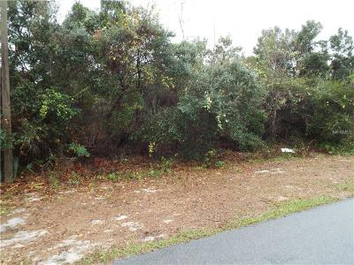 Deltona FL Residential Lots & Land For Sale: $34,900