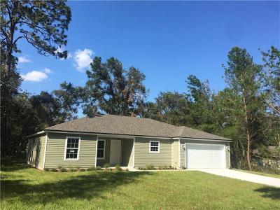 Orange City Single Family Home For Sale: 1611 16th Street