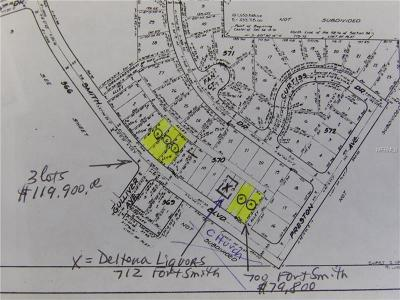 Residential Lots & Land For Sale: 700 Fort Smith Boulevard