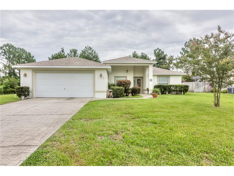 3 bed/2 bath Home in Palm Coast for $179,900
