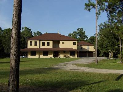 Deltona Single Family Home For Sale: 2015 Old Train Road