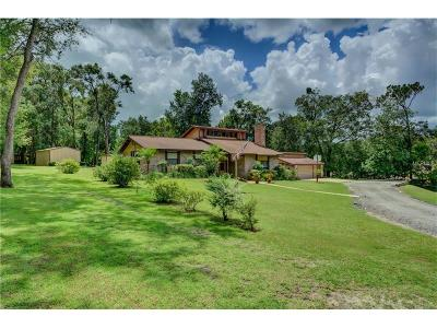 Deland Single Family Home For Sale: 1474 Manor Way
