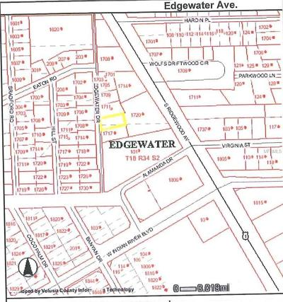 Volusia County Residential Lots & Land For Sale: Edgewater Drive