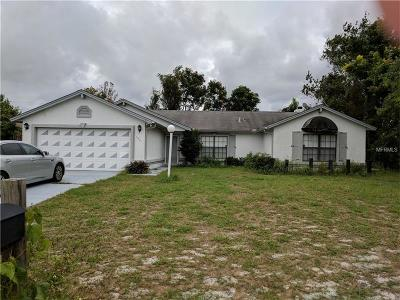 Deltona Single Family Home For Sale: 1901 Stanton Street