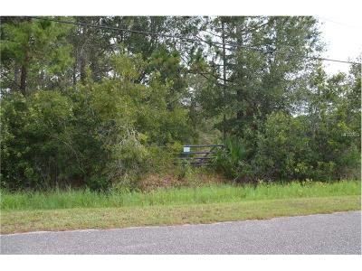 Volusia County Residential Lots & Land For Sale: 535 Cypress Isles Road