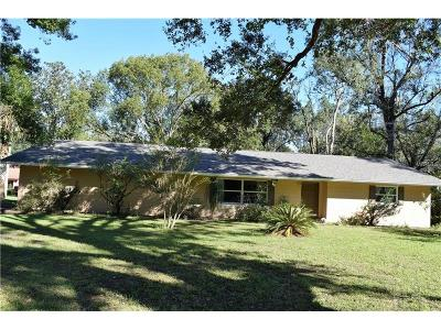 Longwood Single Family Home For Sale: 2185 Longwood Lake Mary Road