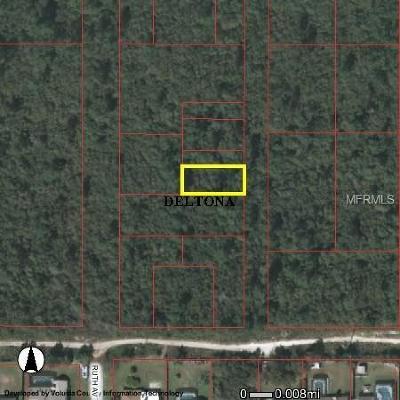 Deltona Residential Lots & Land For Sale: Wolverine Paper Avenue