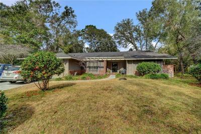 Deland Single Family Home For Sale: 3375 Whispering Pine Trail