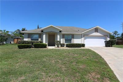Daytona, Daytona Beach, Daytona Beach Shores, De Leon Springs, Flagler Beach Single Family Home For Sale: 132 Heathrow Drive