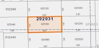Polk City Residential Lots & Land For Sale: No Street