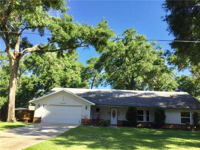 Deland Single Family Home For Sale: 1507 Rowe Lane