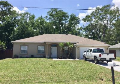 Edgewater Single Family Home For Sale: 3044 Silver Palm Drive