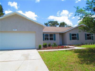 Deltona Single Family Home For Sale: 897 Watt Circle