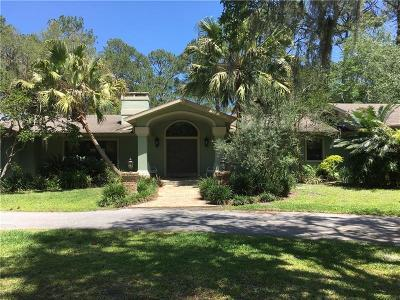 Deland Single Family Home For Sale: 2121 Hontoon Road