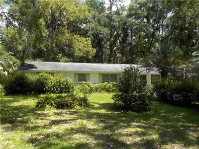 Deland Single Family Home For Sale: 452 Deerfoot Road