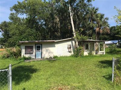 New Smyrna Beach Single Family Home For Sale: 1609 Elizabeth Street
