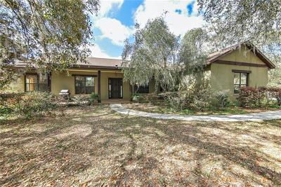Volusia County Single Family Home For Sale: 2470 Place Pond Road