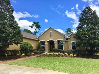 Eustis Single Family Home For Sale: 42316 E Saffron Court