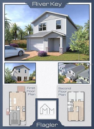 Port Orange Single Family Home For Sale: 5136 Taylor Avenue