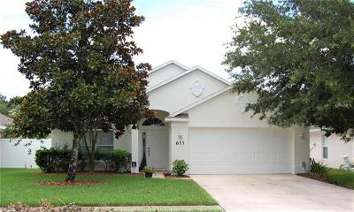 Edgewater Single Family Home For Sale: 611 Coral Trace Boulevard