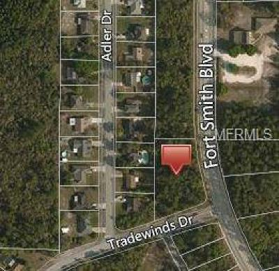 Volusia County Residential Lots & Land For Sale: 825 Fort Smith Boulevard