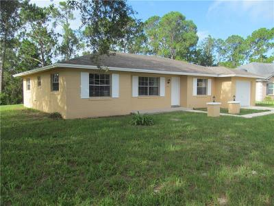 Deltona Single Family Home For Sale: 2731 Canal Road
