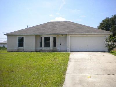 Deltona Single Family Home For Sale: 3107 Pigeon Cove Street
