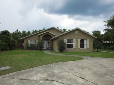 Deltona Single Family Home For Sale: 2810 Beckwith Street