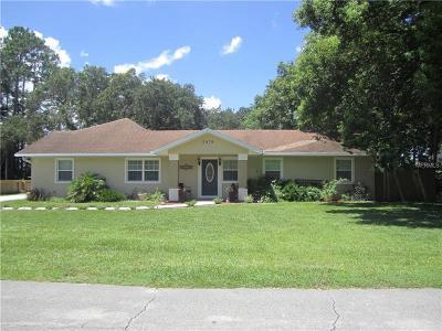 Deland  Single Family Home For Sale: 2478 Dartmouth Road
