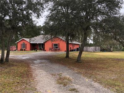 Daytona, Daytona Beach, Daytona Beach Shores, De Leon Springs, Flagler Beach Single Family Home For Sale: 5625 Old Perkins Highway