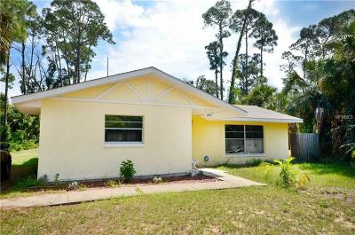 Edgewater Single Family Home For Sale: 2821 India Palm Drive