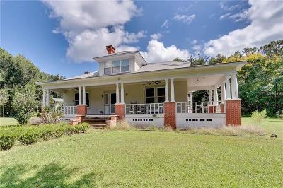 Deland Single Family Home For Sale: 1890 Collins Grove Road