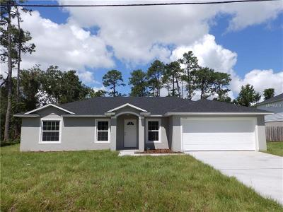 Deland Single Family Home For Sale: 2055 5th Avenue