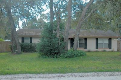 Orange City Single Family Home For Sale: 1180 3rd Street