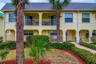 Daytona Beach Shores Townhouse For Sale: 3733 Cardinal Boulevard #3