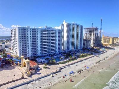 Daytona Beach, Daytona Beach Shores, New Smyrna Bch, New Smyrna Beach, Ormond Beach, Edgewater, Ponce Inlet Condo For Sale: 300 N Atlantic Avenue #1210