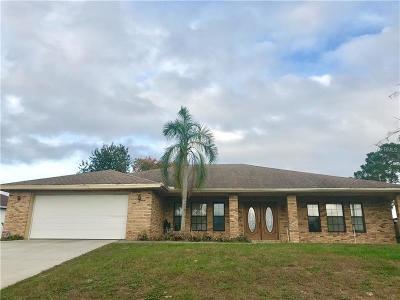 Deltona Single Family Home For Sale: 1447 Eden Drive
