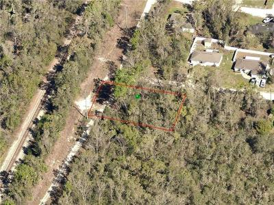 Orange City FL Residential Lots & Land For Sale: $25,000