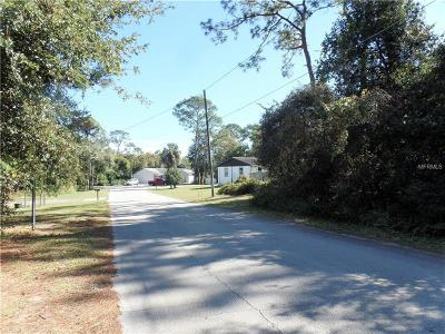 Debary Residential Lots & Land For Sale: Lot 10 Palmira Road