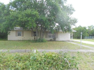 Deltona FL Single Family Home For Sale: $155,000