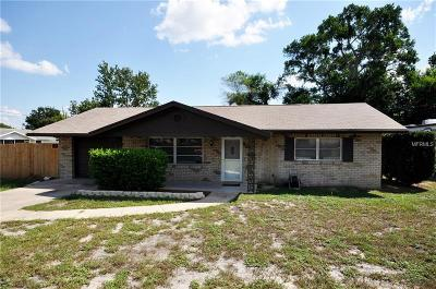 Orange City FL Single Family Home For Sale: $149,900