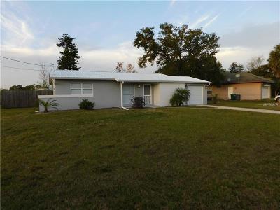 Deltona Single Family Home For Sale: 1384 Bailey Avenue