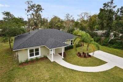 Volusia County Single Family Home For Sale: 2250 Lake Ruby Road