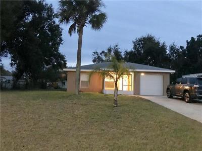 Daytona Beach Single Family Home For Sale: 1323 Hillcrest Drive