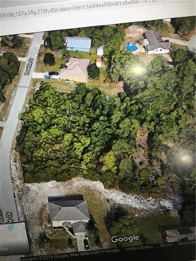 Deltona FL Residential Lots & Land For Sale: $39,500