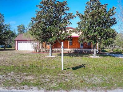 Umatilla Single Family Home For Sale: 40631 E 5th Avenue