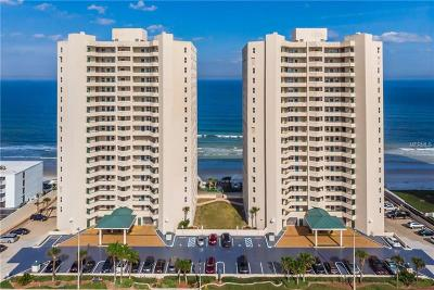 Daytona Beach, Daytona Beach Shores, New Smyrna Bch, New Smyrna Beach, Ormond Beach, Edgewater, Ponce Inlet Condo For Sale: 3311 S Atlantic Avenue #1201